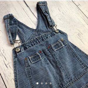 Vintage GAP denim overalls medium women's